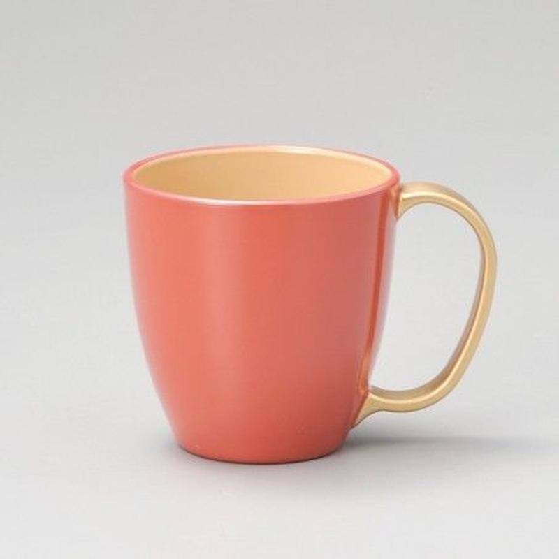 持ち手金 マグカップ(ピンク)