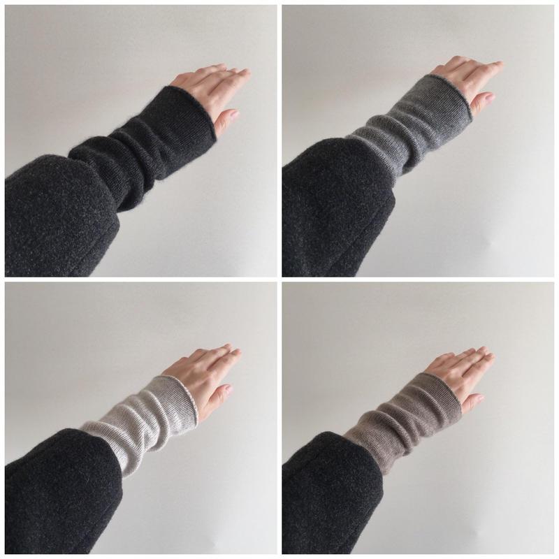 Cashmere arm-warmer