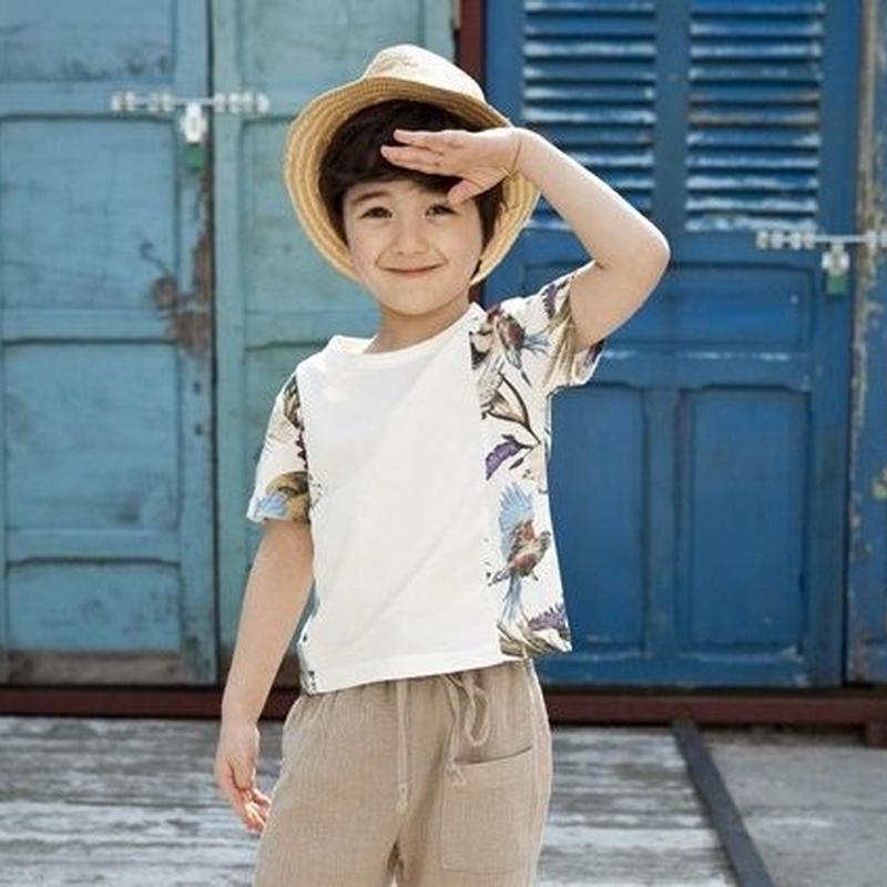 ボタニカルTシャツ(ホワイト)当店通常価格¥3890→