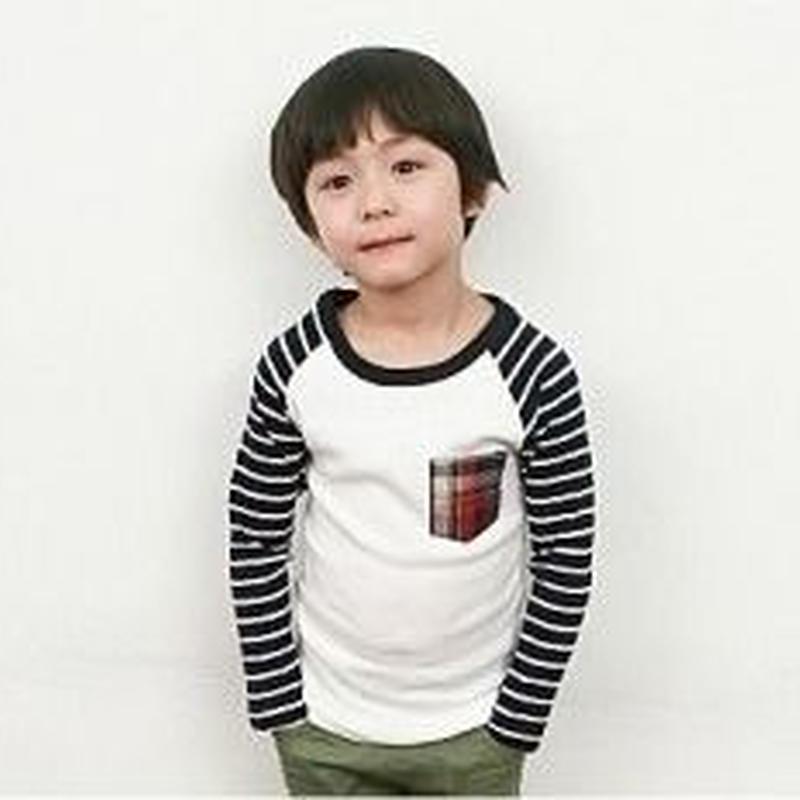 【SALE!】チェックボーダーTシャツ 当店通常価格 3490円→