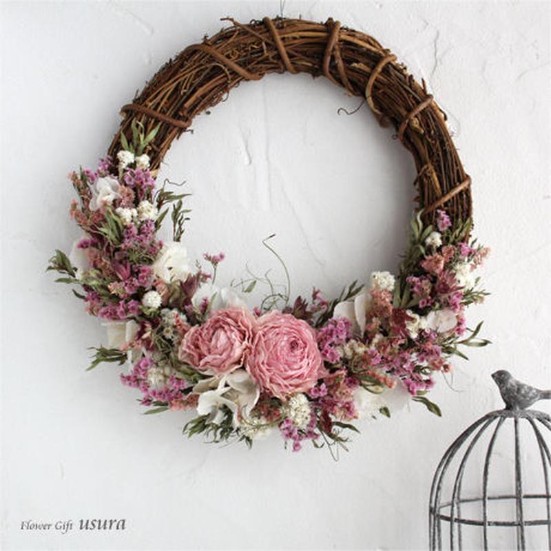 ブケ ~Bouquet~ / ドライフラワーリース