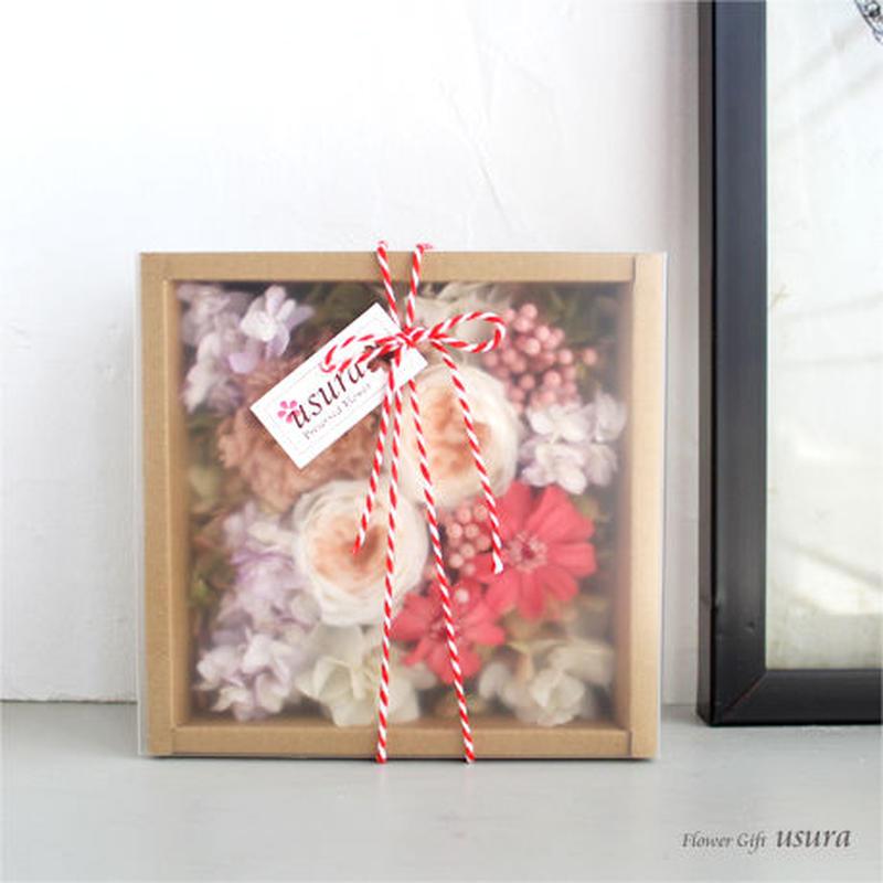 サンプリシテ ~Simplicité~ / プリザーブドフラワー ボックスアレンジ