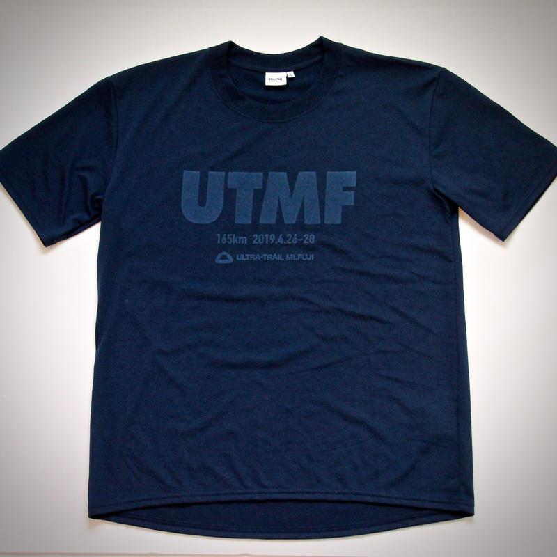 UTMF x BRING Tシャツ 紺