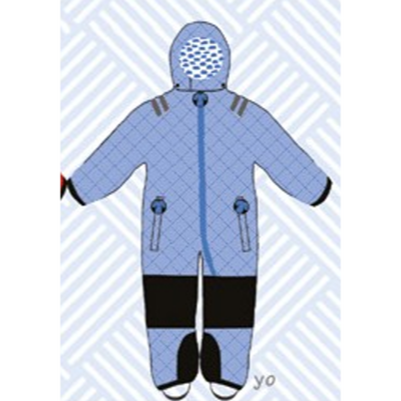 ducksday Toddler snow suit yo (98-104cm ~ 110-116cm )