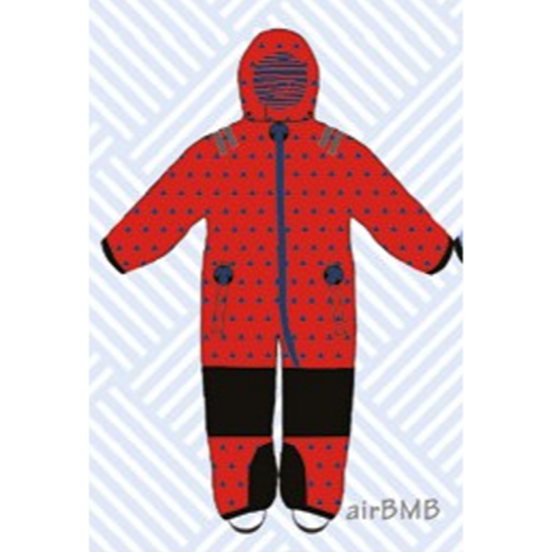 ducksday Toddler snow suit airBMB (98-104cm ~ 110-116cm )