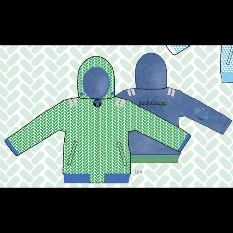 ducksday Reversible jacket  Lex ( 8y / 10y / 12y )
