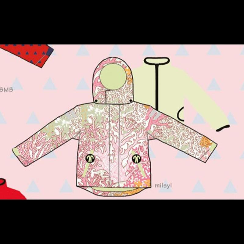 ducksday Detachable fleece&jacket Milsyl ( 8y / 10y / 12y )