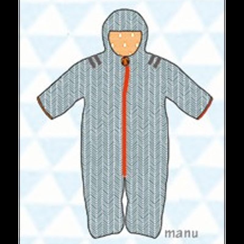 ducksday Baby snow suit Manu (74cm ~92cm )