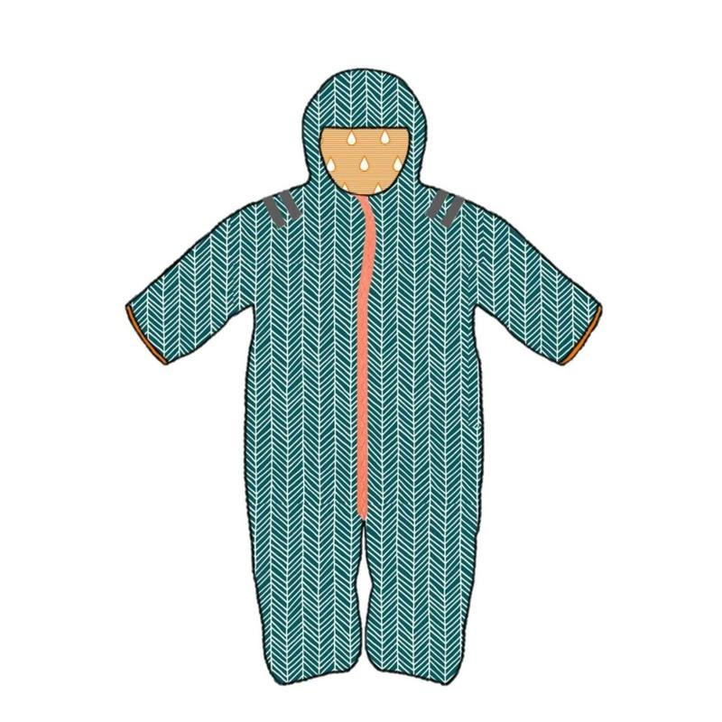 ducksday Baby warm suit Manu