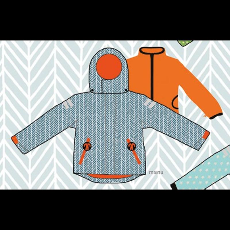 ducksday Detachable fleece&jacket Manu ( 8y / 10y / 12y )