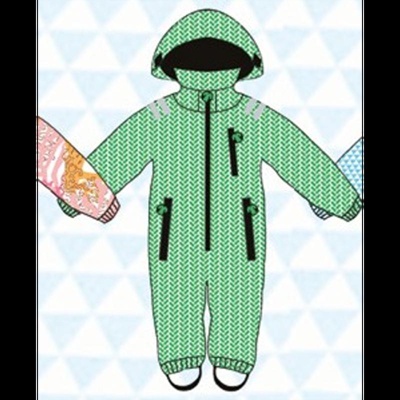 ducksday Rain suits Lex  (98-104cm~110-116cm)