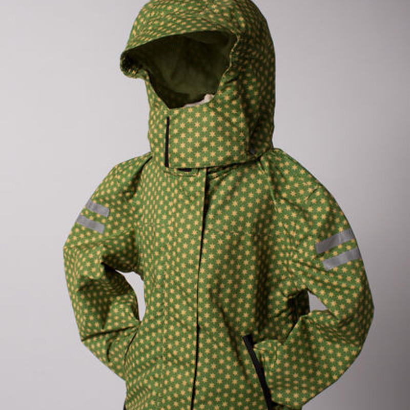 ducksday Detachable fleece & jacket Funky green