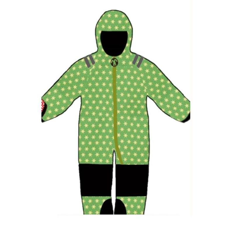 ducksday Tiny warm suits Funky green