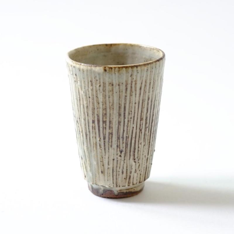 すずばなのGuinomi Sake Cup《粉引しのぎ》