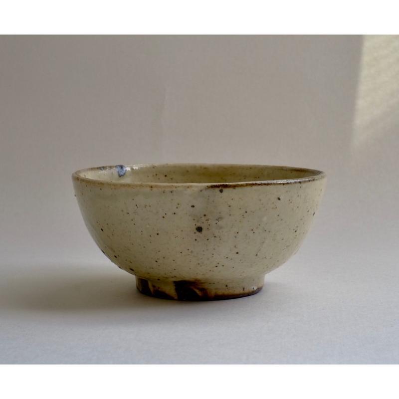 粉引飯碗 φ110 薪窯