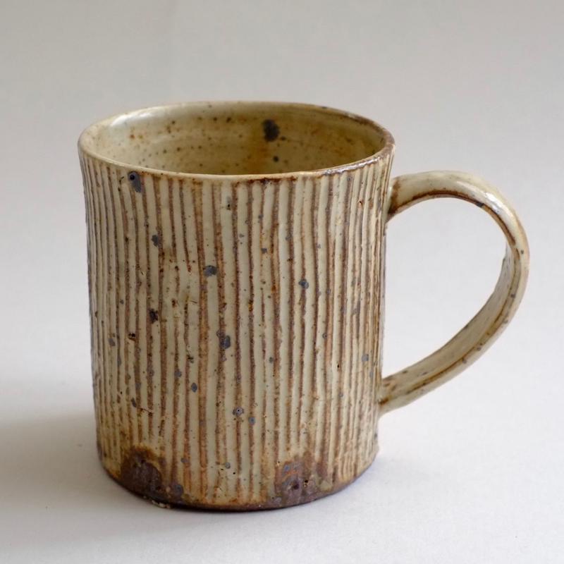 マグカップ 薪窯で焼成