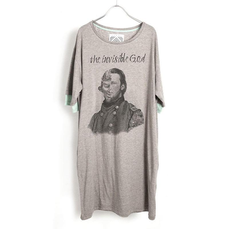 invisibleダブルスリーブビッグTシャツ