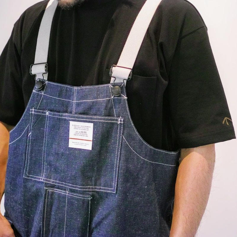 Nigel Cabourn, NAVAL DUNGAREE - 10OZ JAPANESE DENIM