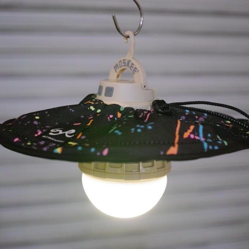 BALLISTICS INDUSTRIES×HALF TRACK PRODUCTS  Lamp Shade<Splatter>