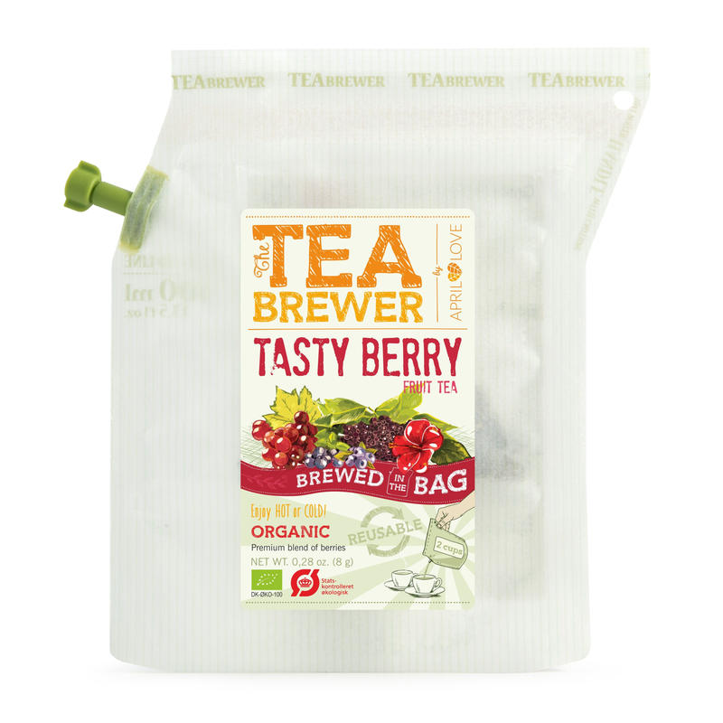 TEA BREWER  【Tasty Berry Fruit Tea】