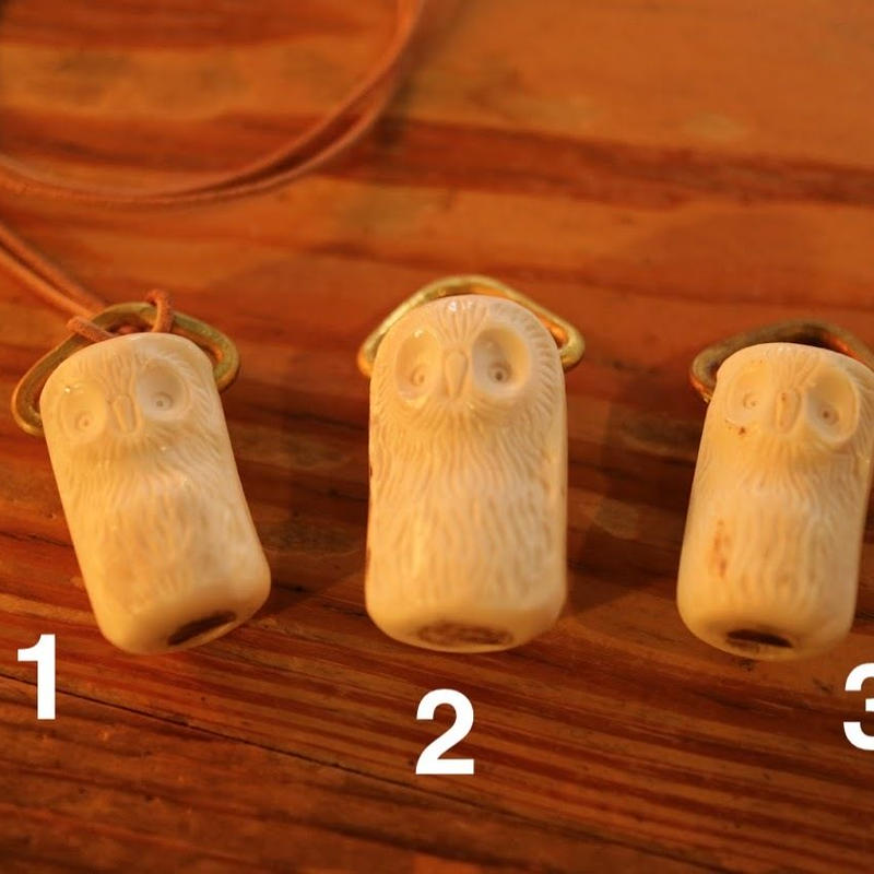 deer whistles OWL ホイッスルペンダント