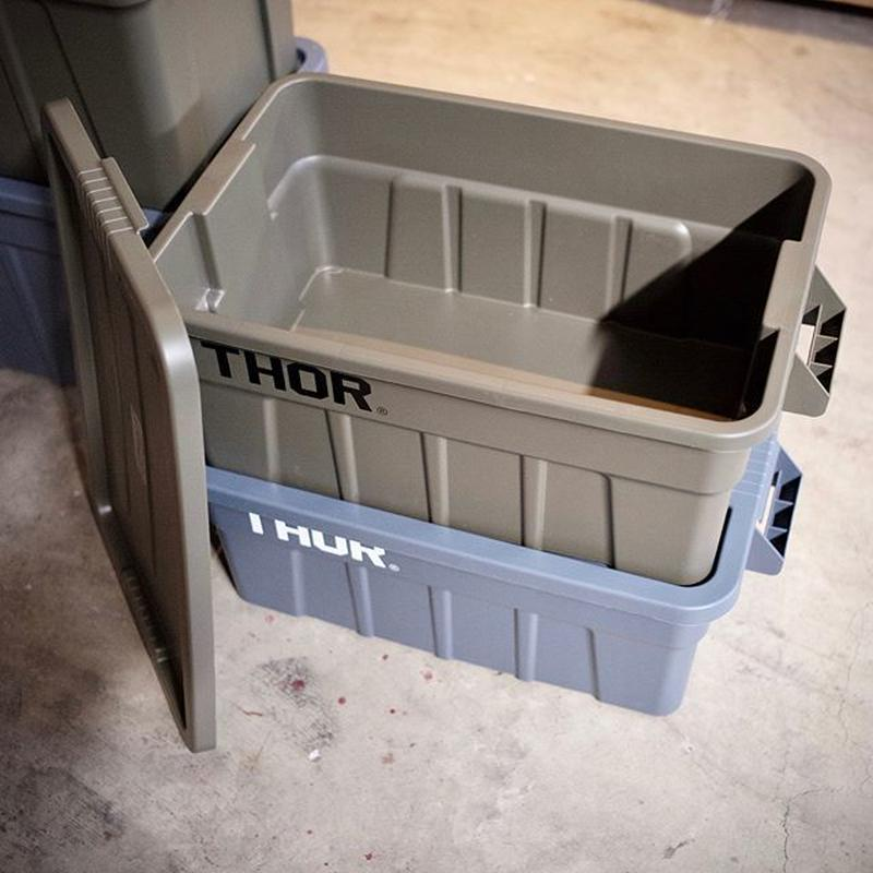 """TRUST   THOR Large Totes With Lid """"53L"""