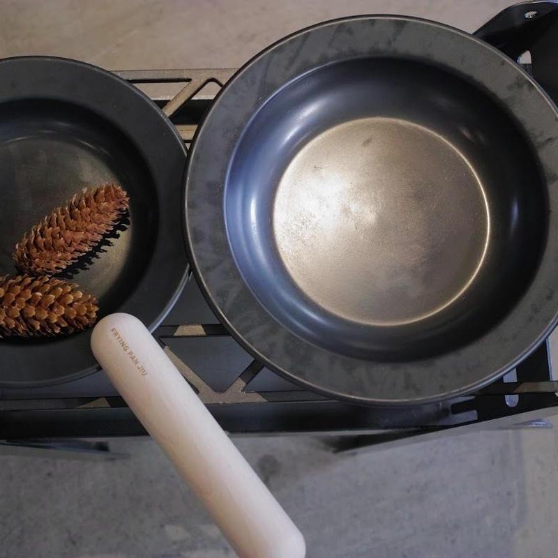 FRYING PAN JIU,S+M/HANDLE SET,BEECH