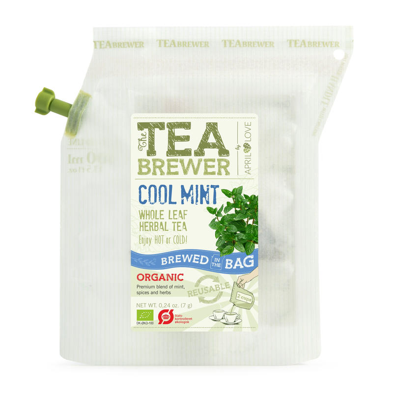 TEA BREWER   【Cool Mint Whole Leaf Herbal Tea】