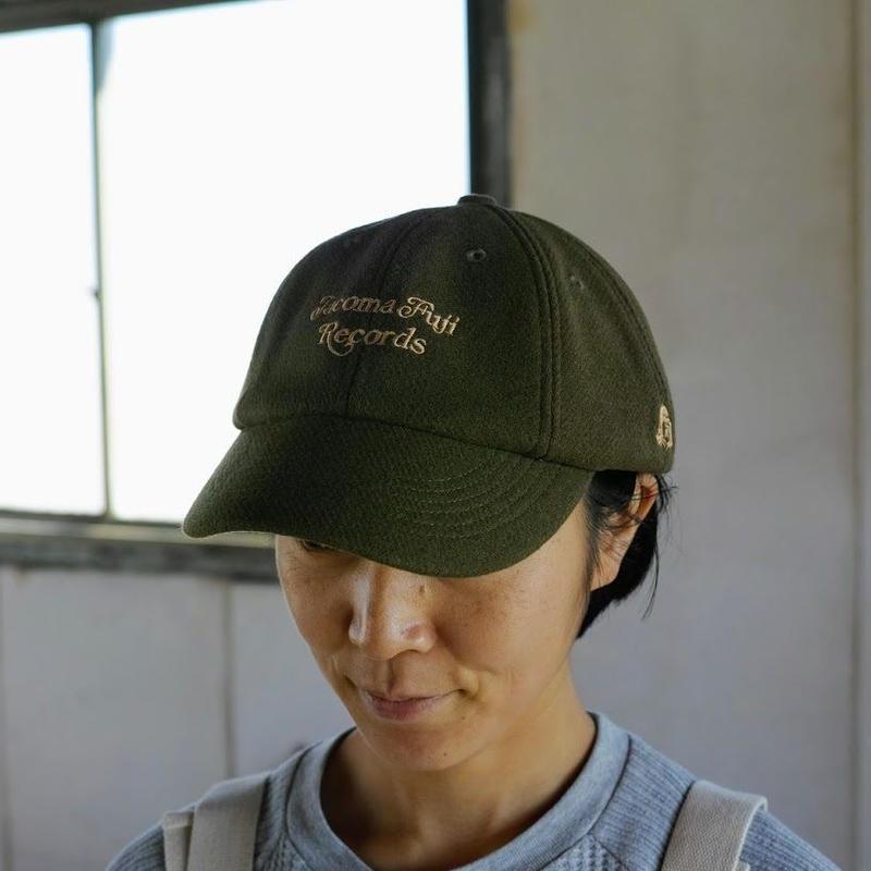 TACOMA FUJI RECORDS, TACOMA FUJI CURSIVE LOGO CAP designed by Shuntaro Watanabe