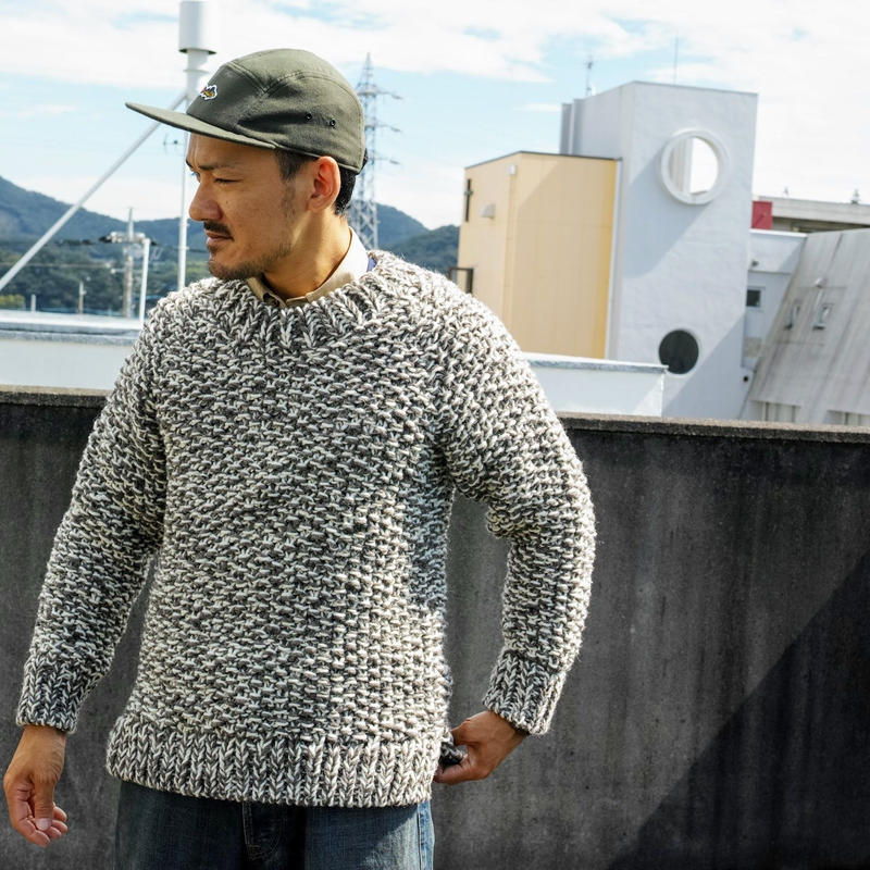 TAKE&SONS Puno Hund Knit