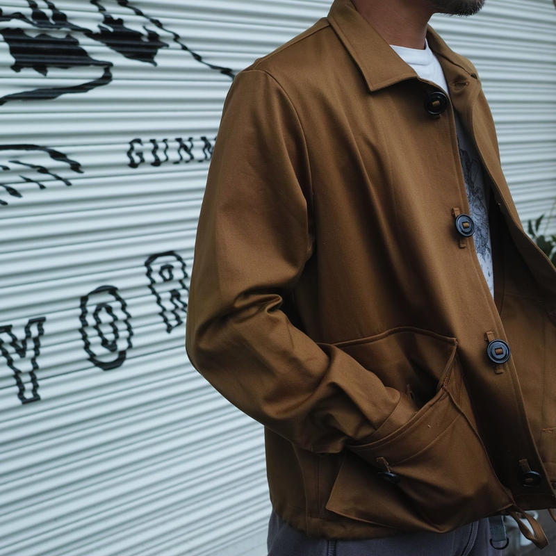 Monitaly MILITARY SERVICE JACKET TYPE-A Vancloth Sateen KHAKI