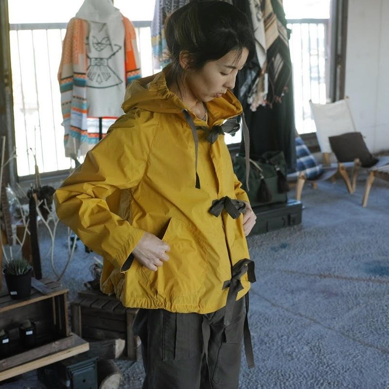 Nigel Cabourn, NAVAL RESCURE JACKET - TASLAN NYLON VEGETABLE DYE