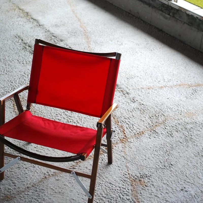 Kermit Chair WALNUT -RED-