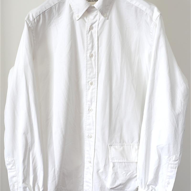 TAKE&SONS HD OX Shirt, White