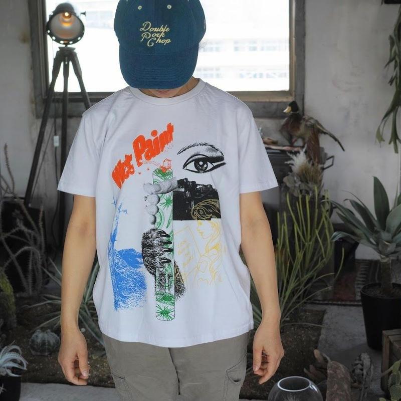 TACOMA FUJI RECORDS, Wet Paint designed by Hisham Akira Bharoocha Tシャツ
