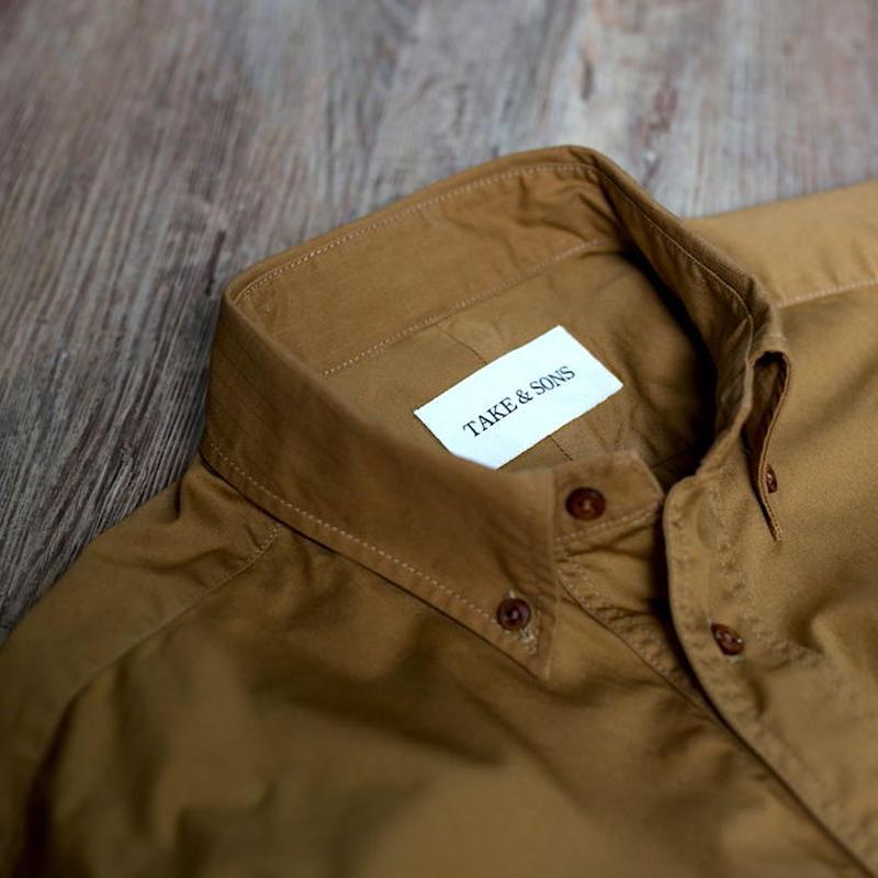 TAKE&SONS, Camper Shirt