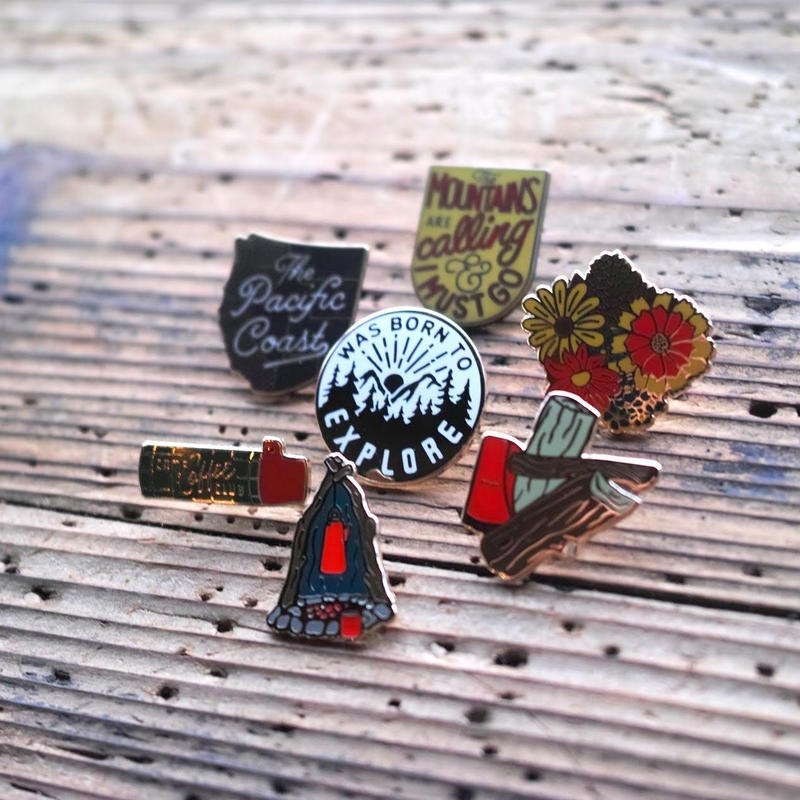 Kimberlin Co, ENAMEL PINS
