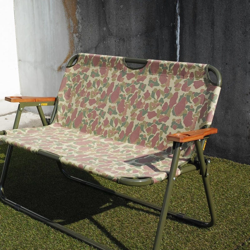 Peregrine Furniture,Grand Ecdysis Bench (Pattern Cloth) Paint Flame Special Model
