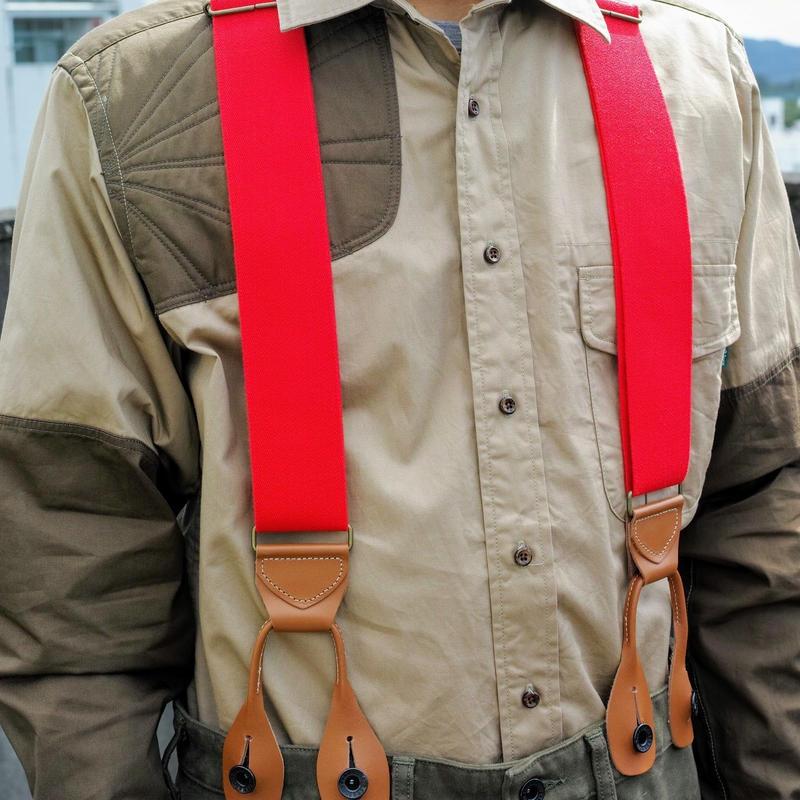 TAKE&SONS Wide Suspender