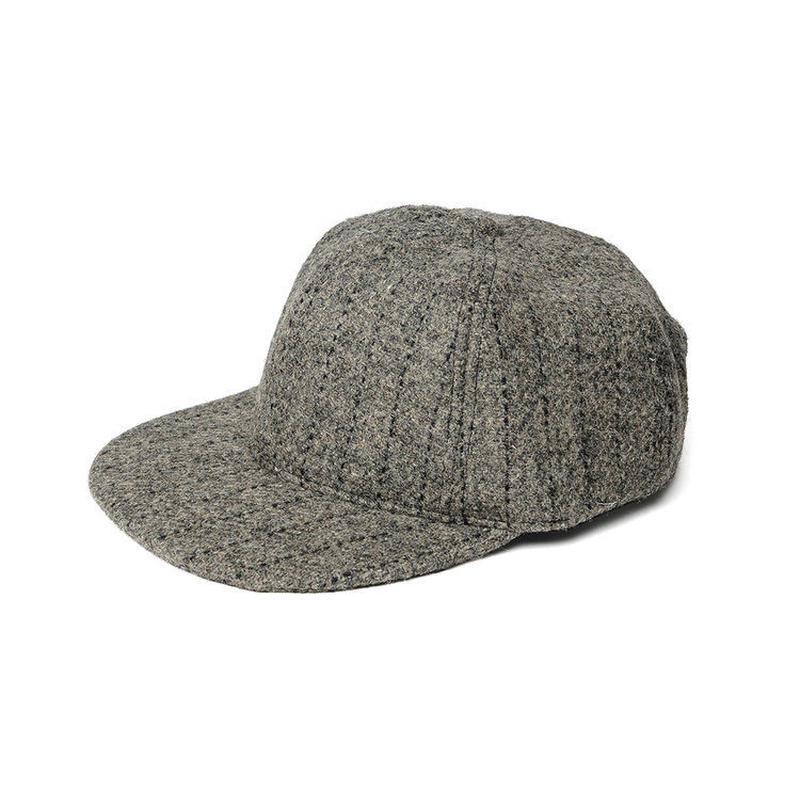 MONITALY 6-PANEL CAP,HARRIS TWEED