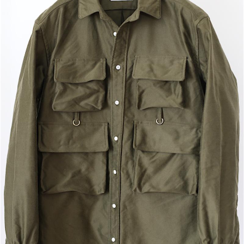 TAKE&SONS Flyman Shirt, Khaki