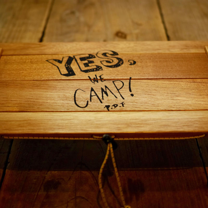 "【Peregrine Funiture×Purveyors 別注】""Yes,We Camp!"" Armadillo Table アルマジロテーブル"