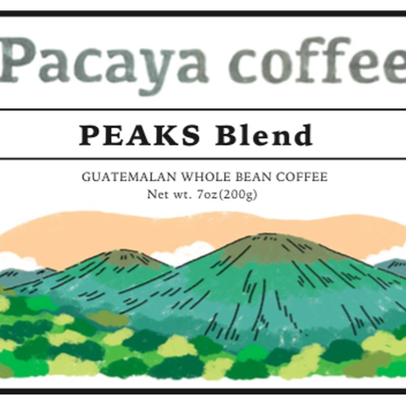 PEAKS Blend 200g /Pacaya Coffee