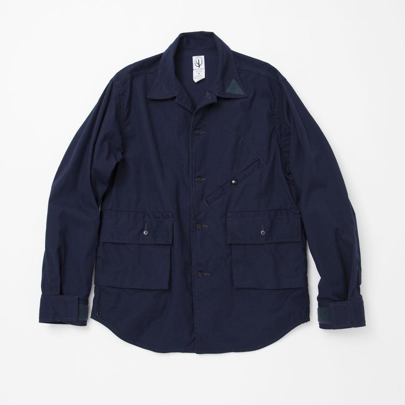 CORONA Hunter Hiker Shirt, Cotton Duck, Navy