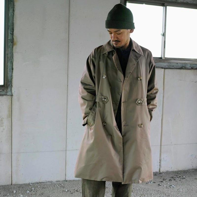 holk, Trench coat(Khaki)