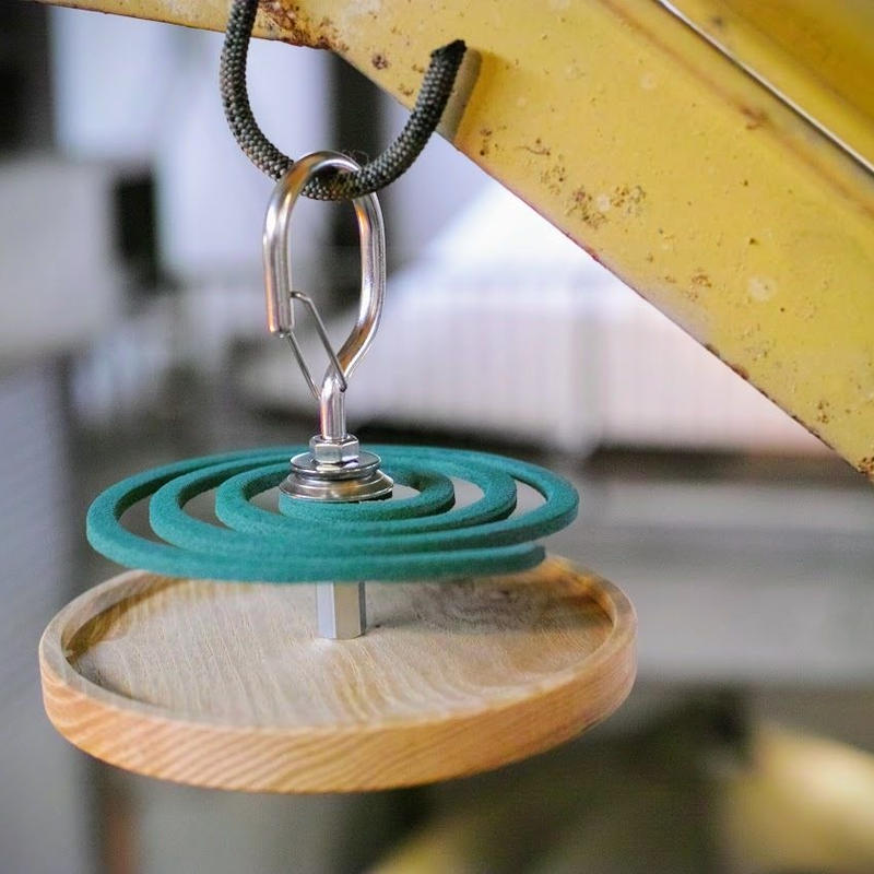 Peregrine Furniture,Mosquito coil holder カラビナ型