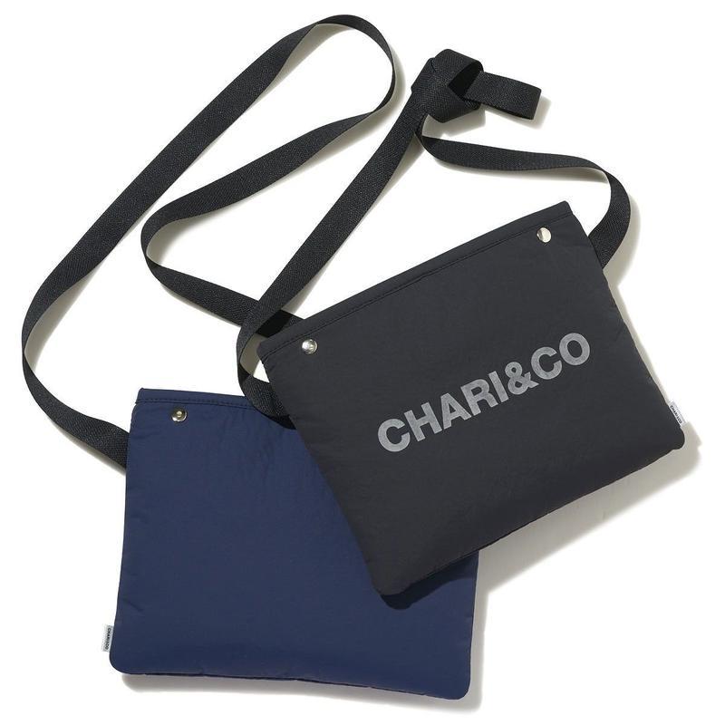 CHARI&CO BOLD LOGO SACOCHE サコッシュ