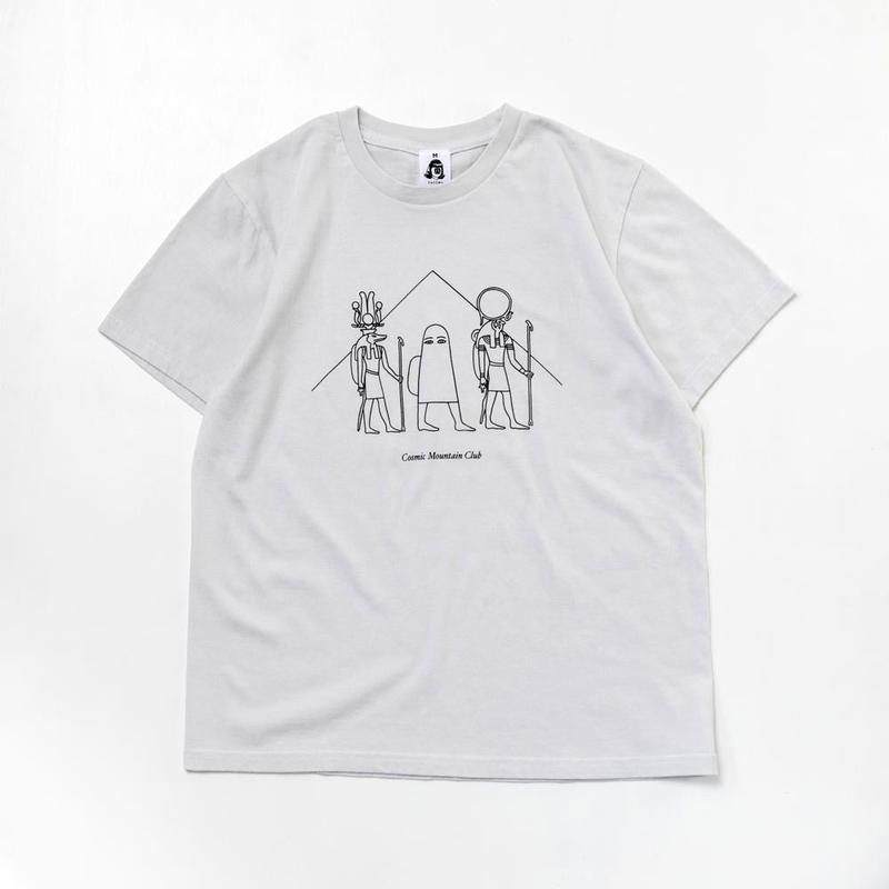 TACOMA FUJI RECORDS, Cosmic Mountain Club designed by Noriteru Minezaki ((studio)) Tシャツ