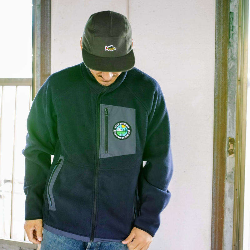 STAY HUNGRY YMGU Fleece jacket SIZE M