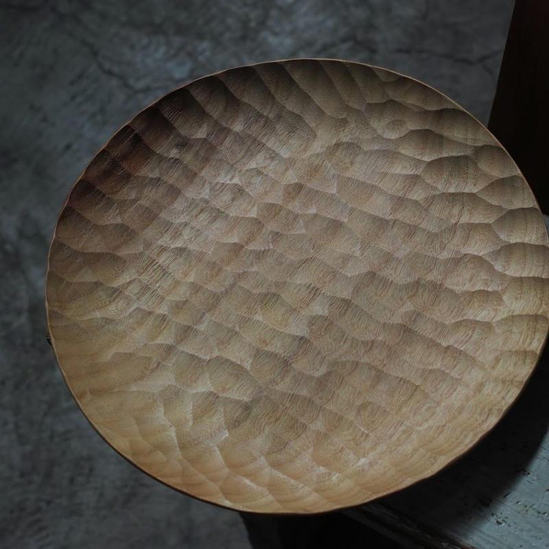 AKIHIRO WOODWORKS   Wood Plate 270